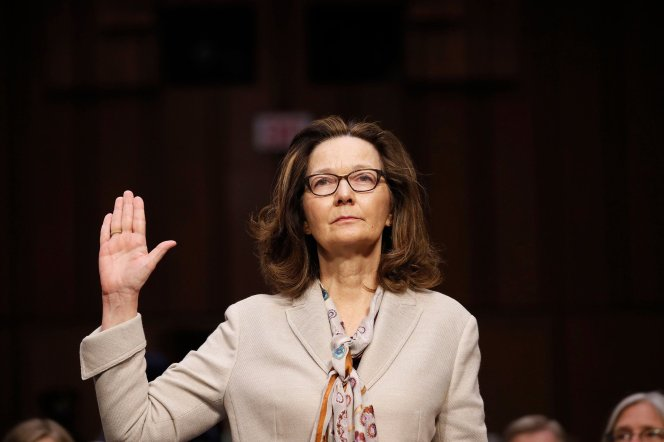 Gina Haspel and Pinocchio from Rome