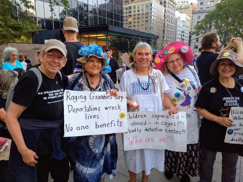 Raging Grannies Lights 4 Liberty