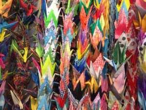 Peace cranes 1